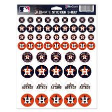 Houston Astros Car Decals Astros Bumper Stickers Decals Fanatics