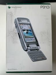 Sony Ericsson P800 - Electric Blue ...
