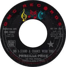 45cat - Priscilla Price - Do I Stand A Chance With You / Rockefeller Jones  - GMC - USA - GM 10007