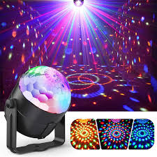Party Lights Disco Lights Sound Activated With Remote Disco Ball Light Stage Lights Multi Colors Rotating Magic Led Strobe Lights For Xmas Parties Room Pool Club Home Church Karaoke Wedding Walmart Com Walmart Com