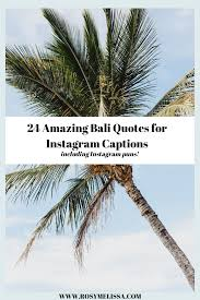 beautiful bali quotes instagram captions and puns