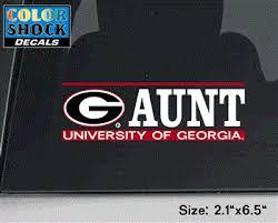 Uga Aunt Decal