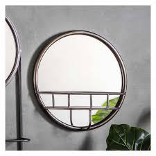 milton mirror round 40cm