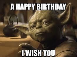 star wars birthday memes wishesgreeting