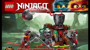 LEGO Ninjago The Vermillion Attack 70621 Instructions DIY Book - YouTube