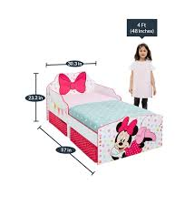 minnie mouse toddler bed with