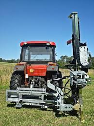 Tractor Mounted Post Driver For Sale
