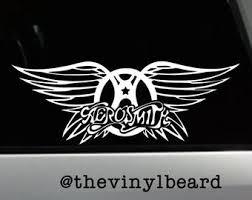 Aerosmith Decal Etsy