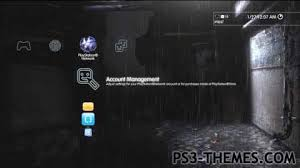 ps3 themes heavy rain dynamic theme