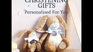 best personalised christening gifts