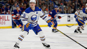 Sabres forward Jack Eichel diagnosed with high-ankle sprain, out ...