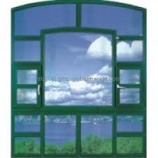 upvc window with fix and awning design
