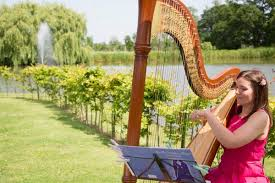 great reasons to book a wedding harpist