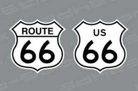 Us Route 66 Vinyl Decal Stickers Ebay
