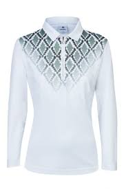 Ada Long Sleeve Polo Shirt