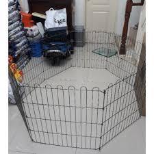 8 Panel Dog Fence Dog Playpen Cage Shopee Philippines