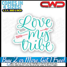 Love My Tribe Decal Sticker Laptop Car Cup Cooler Girl 500017 Ebay