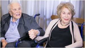 The Centennial Couple - Kirk Douglas is 103 and his Wife is 100!