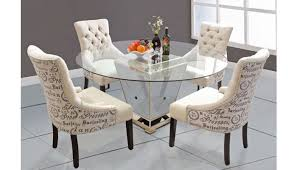 maras mirrored dining table