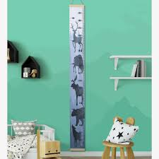 1pc Kids Growth Chart Creative Colored Wall Decal Wall Hanging Pendant For Teens 782906071406 Ebay