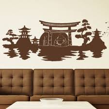 Style And Apply Buddha Panorama Wall Decal Wayfair