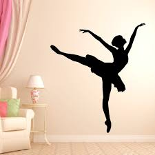 Ballerina Wall Decal Style 2 Vivid Wall Decals