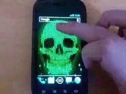 digital skull live wallpaper apps on
