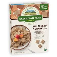 squares cereal cascadian farm organic