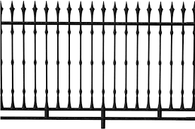 Gothic Clipart Fence Railing Png Transparent Png Full Size Clipart 1269051 Pinclipart