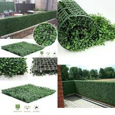 40 60cm Artificial Boxwood Hedges Panels Privacy Synthetic Balcony Fencing Ivy Fence Wall Home Garden Outdoor Decoration Artificial Plants Aliexpress