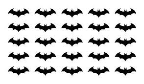 Batman Symbol Vinyl Decals Small 1 5 Stickers Sheet Ebay