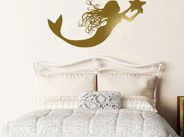 Mermaid Tail Wall Decals Little Target Removable Australia Design With Name For Home Walmart Big Sale Vamosrayos