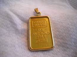 credit suisse 10g fine gold 999 9