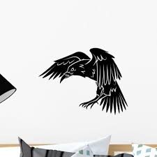 Raven Wall Decal Wallmonkeys Com
