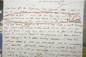 The letter written by Ada West that details (circled) how cowardly men on  the Titanic hid under women's skirts to sneak - A… | Titanic, Rms titanic,  Titanic history
