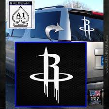 Houston Rockets R Logo Decal Sticker A1 Decals