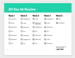 a 30 day workout to tone and strengthen