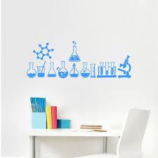 Science Is Cool Mural Geek Wall Art Vinyl Decals Chemistry Laboratory Decoration Ebay
