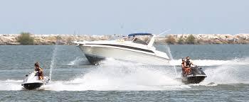 a jet ski on lake erie