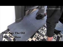 fireplace slate hearth cleaning guide
