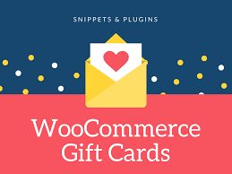 gift cards vouchers in woomerce