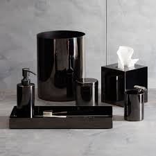 richter black bath accessories modern