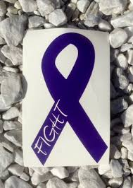 Free Epilepsy Awareness Vinyl Decal Sticker Vehicle Purple Fight Ribbon Other Car Items Listia Com Auctions For Free Stuff