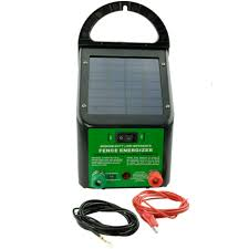 5 8km 0 4j Solar Power Electric Fence Energiser Charger For Poly Wire Tape Posts Jono Johno