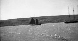 """Effie May Petite"""" and another vessel at Harbour Grace, Newfoundland"""