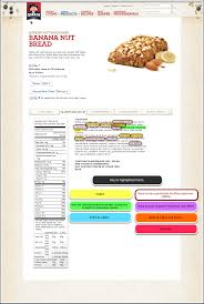 nutrition facts for quaker banana bread
