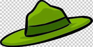 club penguin park ranger hat png