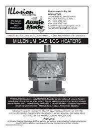 inbuilt gas heater manual illusion fires