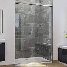 sunny shower double sliding shower door