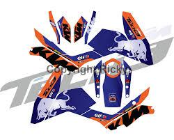 Ktm Duke Custom Decals Graphics New Custom Design Graphics Ktm Duke 125 200 390 Naked Bike Vinyl Decals Sticker